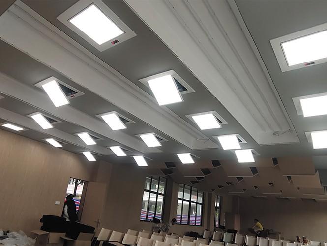 南通崇川学校灯光