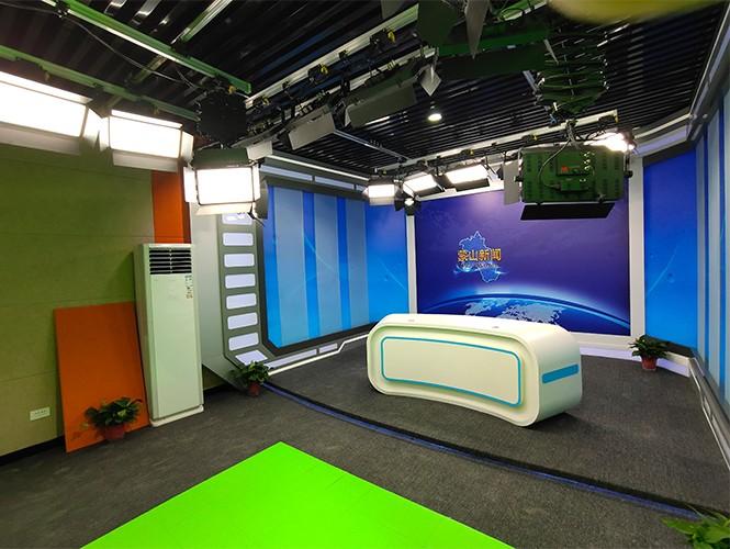 蒙山县电视台融媒体中心项目