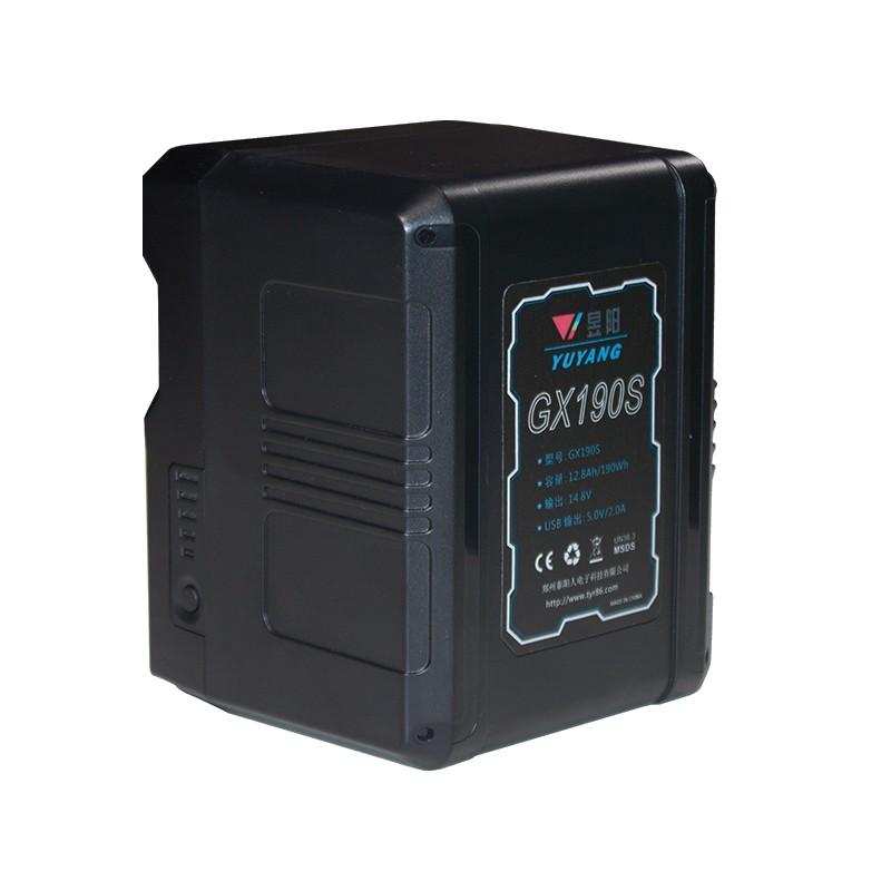通用索尼V型卡口大容量电池 190wh影视灯挂架移动电源优质电芯