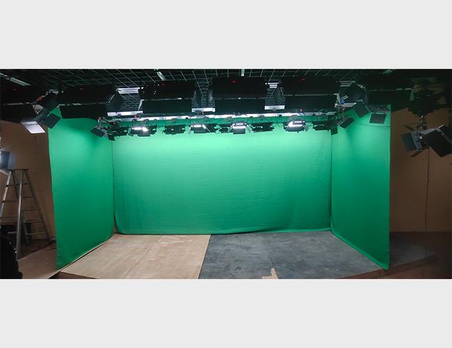 芜湖职业技术学院抠像绿布