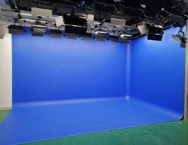灵武市职业技术学校扇型蓝