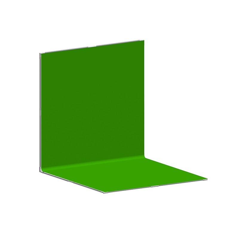 便携式虚拟蓝/绿箱L型
