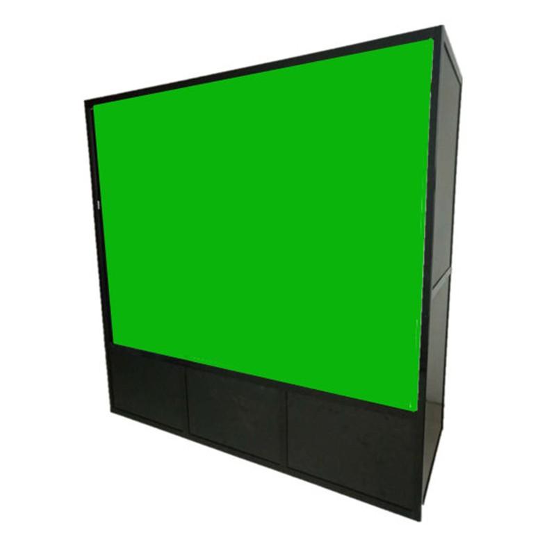 微课背投抠像绿箱