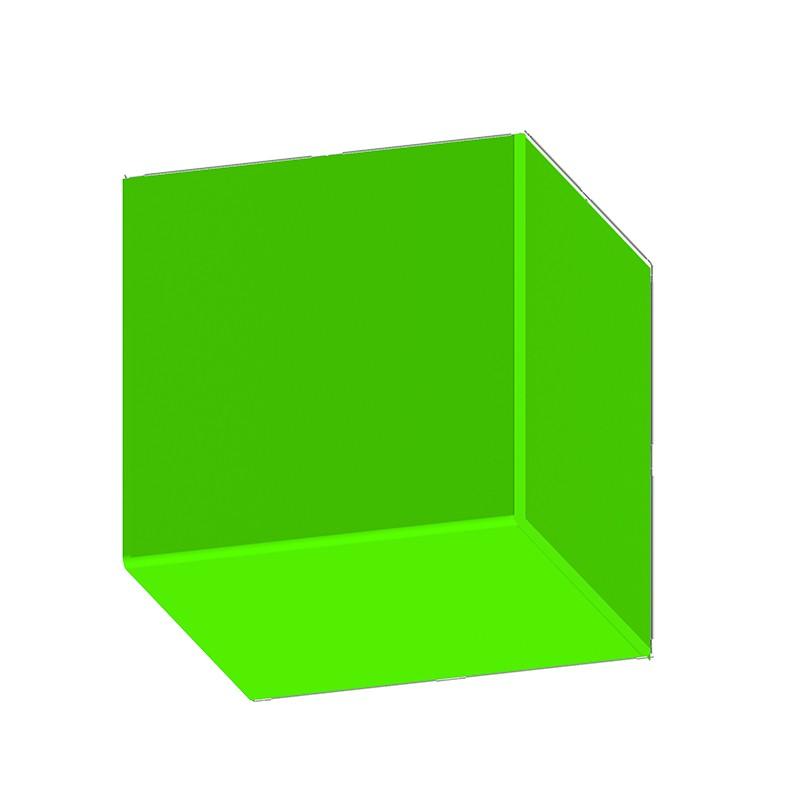 便携式虚拟蓝绿箱半U型