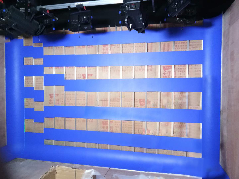 演播室抠像蓝箱一定需要铺抠像地胶吗(图3)