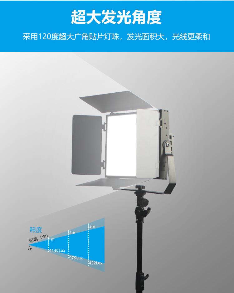 LED平板式柔光灯240W(图2)