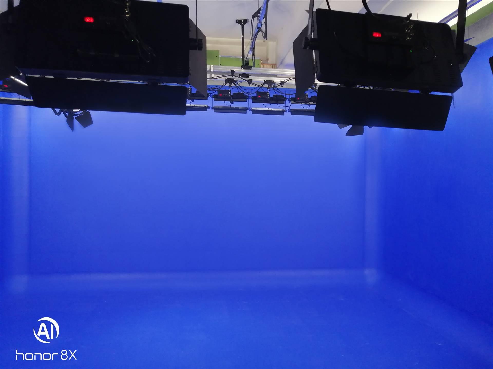 虚拟演播室蓝箱建设(图1)