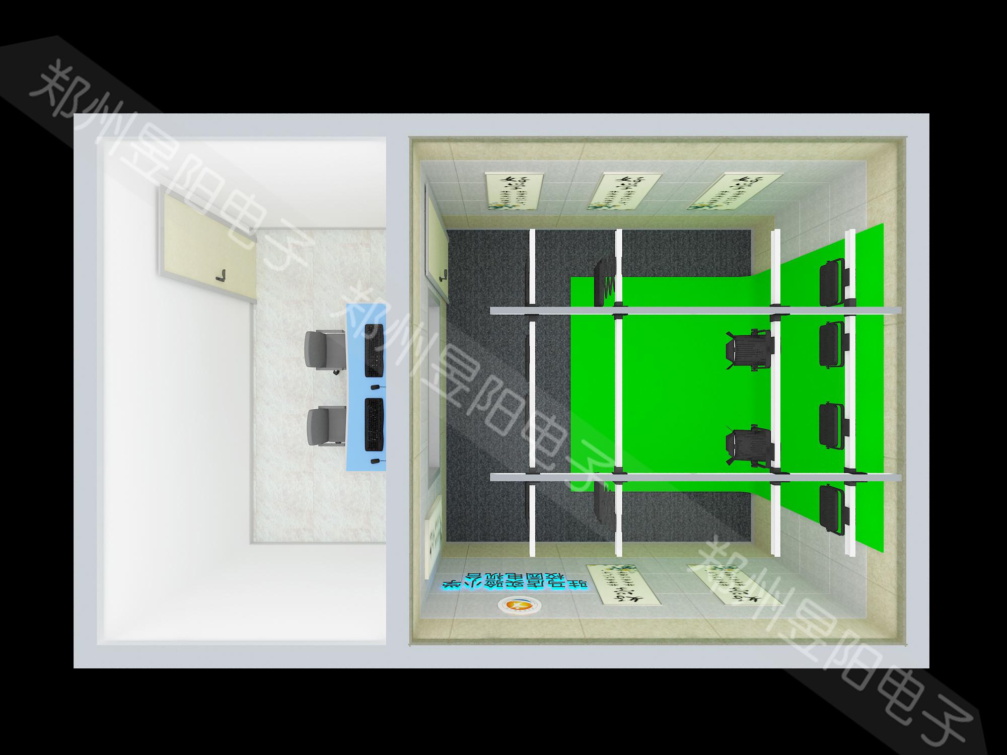 3D虚拟情景课件录制系统(图1)