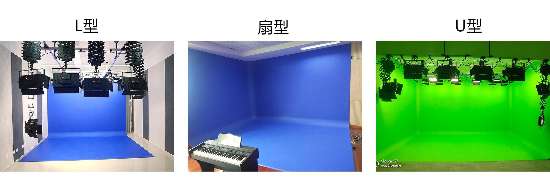 虚拟演播室抠像蓝绿箱方案(图1)