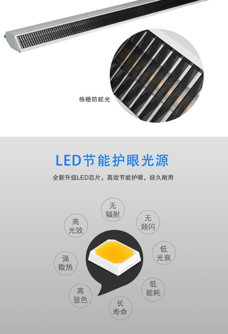 教室LED光源护眼黑板灯 led教室护眼黑板灯(图3)