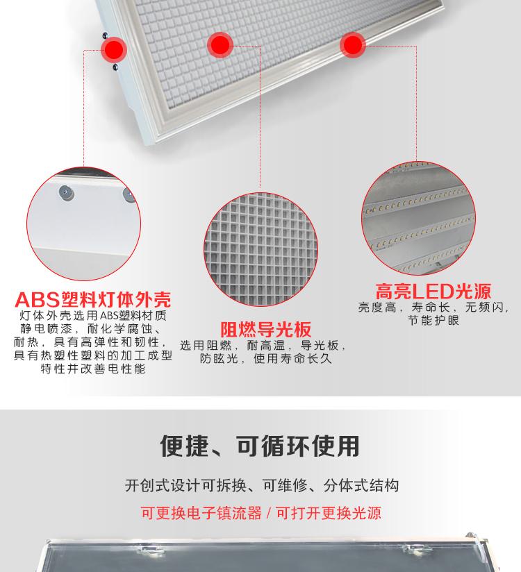 LED教室灯 护眼教室led灯 录播教室护眼灯(图1)