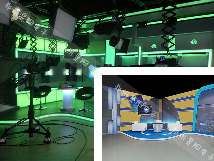 小型访谈室和新闻直播间人物访谈灯光设计(图4)