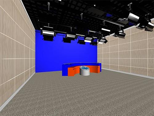 电视演播室声学设计装饰与要求,找郑州昱阳电(图1)