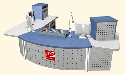 校园电视台桌子如何挑选(图2)