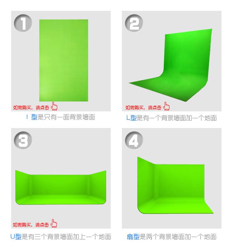 免漆抠像蓝箱扇型(图7)