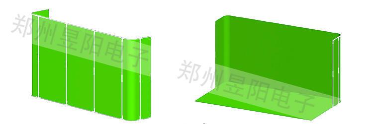 便携虚拟演播室之便携全身抠像组合绿幕(图4)